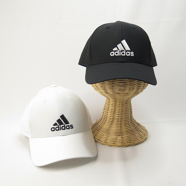 ADIDAS BBALLCAP LT EMB 棒球帽 黑FK0898/白FK0899 後可調整式 【iSport愛運動】