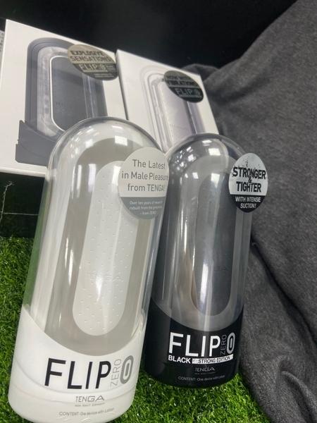 飛機杯送潤滑液情趣商品 TENGA FLIP 0 ZERO 旗艦款太空感自慰杯震動款| ELECTRONIC VIBRATION