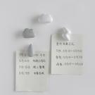 磁力貼云朵冰箱貼吸鐵石留言裝飾磁貼磁鐵1579