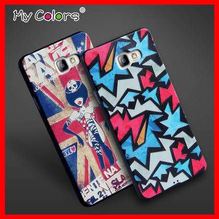 【清倉】三星 A7 2016 A710 MyColors3D立体浮雕硅胶保护软壳 Samsung A7 2016 卡通可愛軟殼