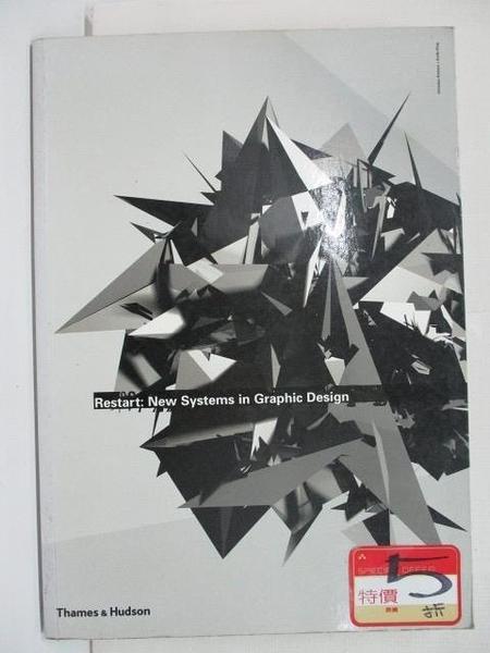 【書寶二手書T3/設計_EET】Restart:New Systems in Graphic Design-Christian Kusters