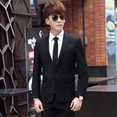 商務正裝三件套西服套裝男士職業小西裝修身韓版新郎伴郎結婚禮服   夢曼森居家