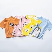 全館83折嬰兒純棉女童T恤夏季女寶寶短袖上衣男童純棉半袖兒童夏裝打底衫