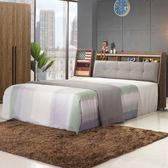 床台《YoStyle》格林床台組-雙人5尺 雙人床 床組 房間組 免運 專人配送