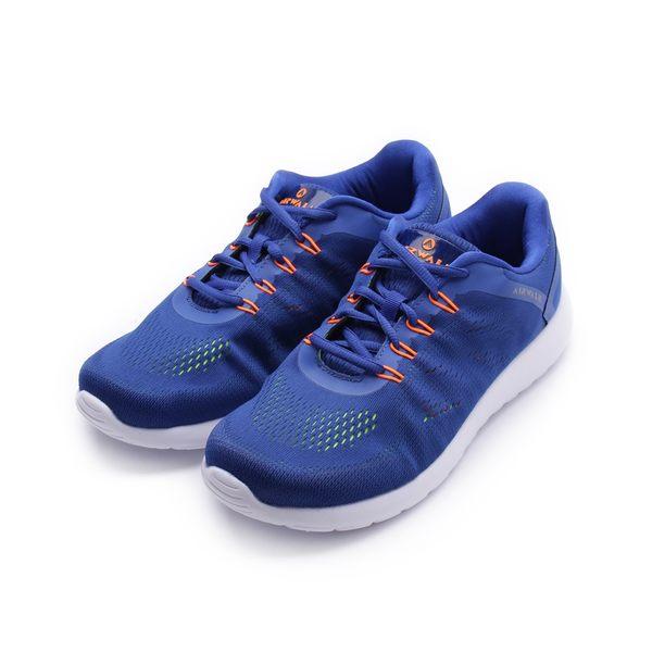 AIRWALK 活力追夢針織運動鞋 藍 A751255580 男鞋 鞋全家福