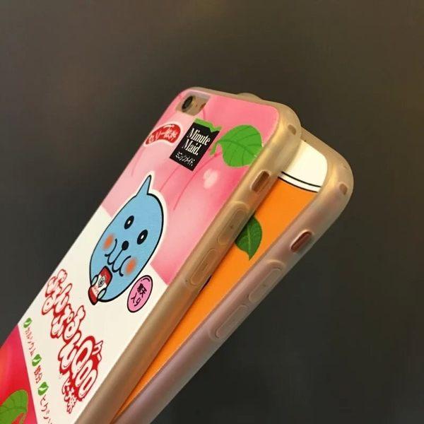 iPhone手機殼 Qoo 橘子水蜜桃 矽膠軟殼全包 蘋果iPhone8/iPhone7/iPhone6手機殼
