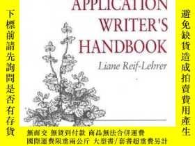 二手書博民逛書店Grant罕見Application Writer s Handbook-資助申請書作者手冊Y361738 L