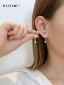 耳環 耳釘女2020年新款潮氣質耳環s925純銀小耳墜韓國網紅爆款耳飾百搭