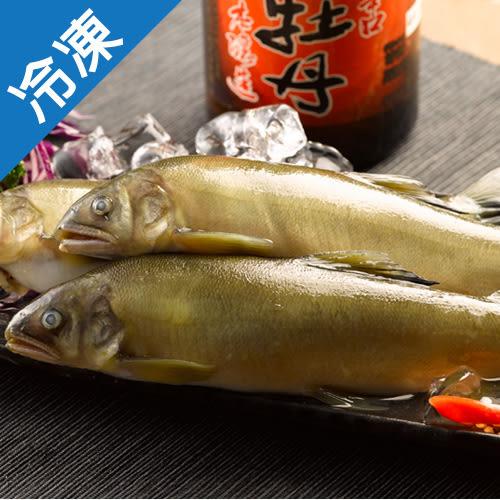 鮮嫩宜蘭活凍香魚1盒(1kg±10%/盒)【愛買冷凍】