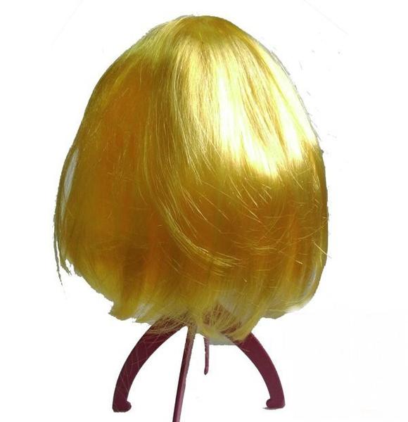 BOBO頭假髮學生妹假髮短假髮】爆炸頭化妝舞會cosplay搞笑角色扮演BOBO頭假髮