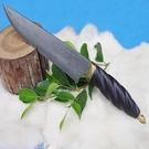 郭常喜與興達刀具--郭常喜限量手工刀品-格鬥刀(A0011)