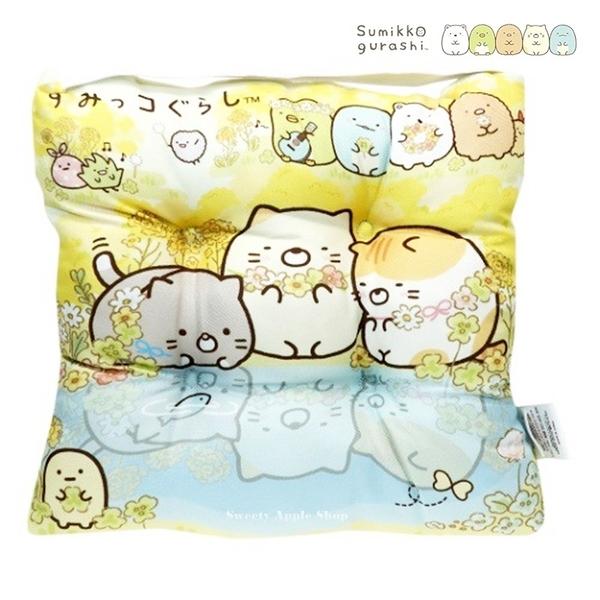 日本限定 SAN-X 角落生物 花園版 抱枕 / 靠墊 / 坐墊