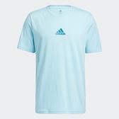 Adidas BFTO 男裝 短袖 T恤 休閒 籃球 棉質 印花 藍【運動世界】GN5109