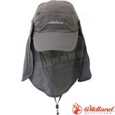 Wildland 荒野 W1031-93深灰色 中性抗UV多功能棒球帽 防曬工作帽/登山休閒帽/鴨舌帽/卡車遮陽帽*