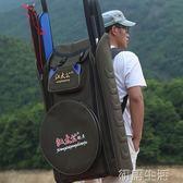 江太公特大號釣椅包 漁具包雙肩加厚背包 垂釣魚包 魚竿包魚護包 初語生活igo