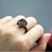 【喨喨飾品】貝殼戒指玫瑰花 S226