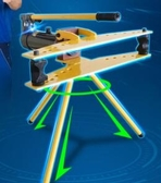 彎管機 手動液壓彎管機彎管器圓管鍍鋅管水管碳鋼管折彎機小型 MKS 交換禮物