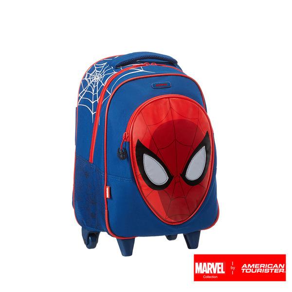 AT美國旅行者 Disney Marvel 漫威漫畫聯名 附輪後背包(蜘蛛人)