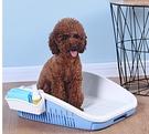 寵物廁所 狗廁所大號大型犬小型犬寵物排便尿盆便盆防踩屎沖水中型狗狗【快速出貨八折搶購】