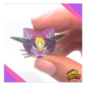 『高雄龐奇桌遊』 東京之王 機械喵喵別針 Pin Cyber Kitty 正版桌上遊戲專賣店