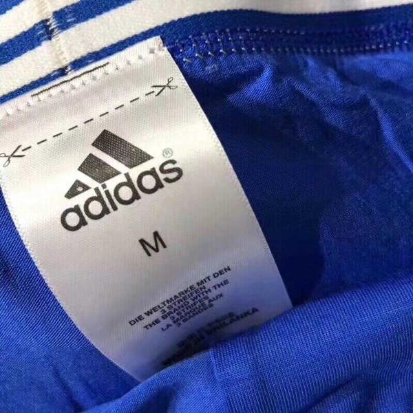 愛迪達 adidas 三葉草 男士盒裝內褲 5條一盒 男士平口褲 四角褲 運動內褲 透氣棉褲 莫戴爾/澤米