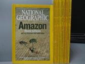【書寶二手書T7/雜誌期刊_YAF】國家地理雜誌_2007/1~12月合售_Amazon等_英文版