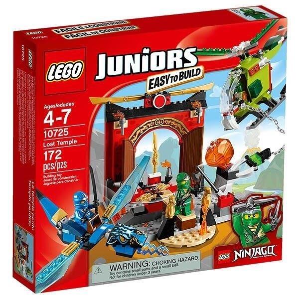 【南紡購物中心】【LEGO 樂高積木】Juniors系列- 失落的廟宇10725