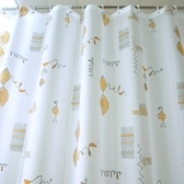 浴室浴簾布伸縮桿套裝防水防霉