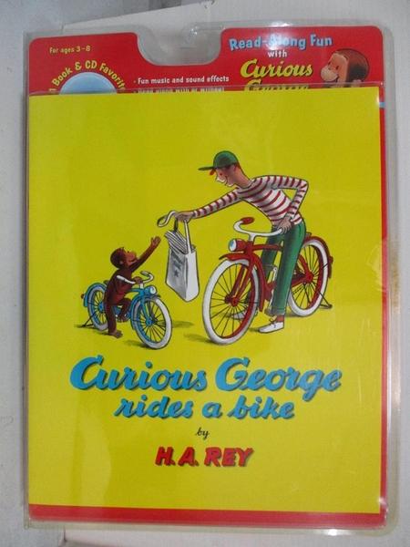 【書寶二手書T1/原文小說_DDC】Curious George Rides a Bike_Rey, H. A.