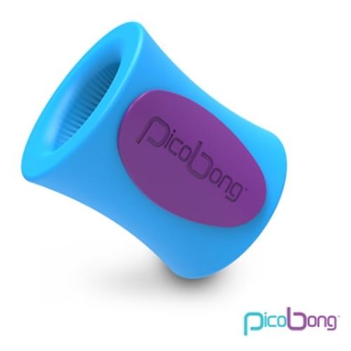 傳說情趣~  瑞典PicoBong*BLOWHOLE M-CUP 強勁自慰杯(6種強勁振動模式) 藍