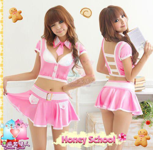 【愛愛雲端】絕對小甜心!三件式學生服 R8NA10030051
