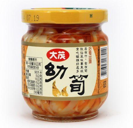 大茂 幼筍 170g (瓶裝)