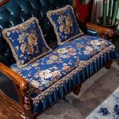 椅墊 歐式沙發墊套高檔奢華防滑四季通用布藝美式 萬客居