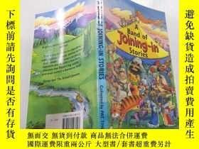 二手書博民逛書店A罕見band of joining in stories加入故事的樂隊Y212829