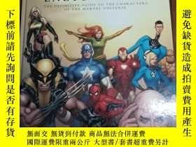 二手書博民逛書店The罕見Marvel Encyclopedia: a Comp