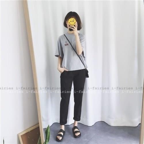 現貨+快速★寬褲 寬鬆直筒薄款西裝褲★ifairies【31650】