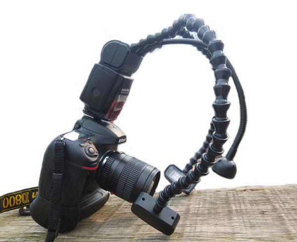 呈現攝影-Laowa(老娃) 微距雙頭蛇管閃光燈 KX-800 LED對焦輔助燈 左右光比 GN 58 生態