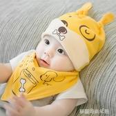 新生兒帽子嬰幼兒秋冬胎帽初生兒女寶寶套頭帽囟門帽男潮嬰兒帽冬 夢露時尚女裝