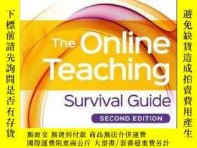 二手書博民逛書店The罕見Online Teaching Survival Guide: Simple and Practical