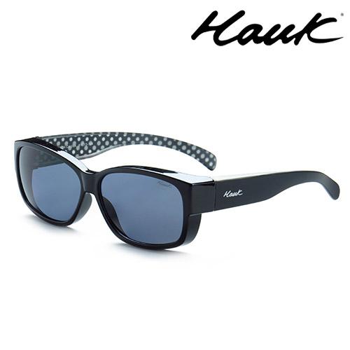 HAWK偏光太陽套鏡(眼鏡族專用)HK1004-08A