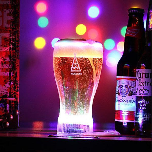 [Ridge Line] 炫彩燈光啤酒杯 (HV_12)