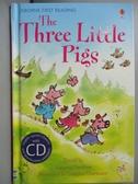 【書寶二手書T2/原文小說_KNR】The Three Little Pigs (with CD) (Usborne E