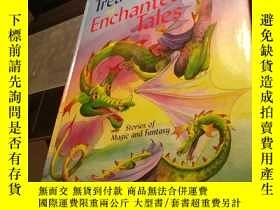 二手書博民逛書店Treasury罕見of enchanted tales(2)Y
