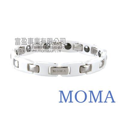 【MOMA】陶瓷鍺磁手鍊窄版-M63WL