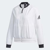 adidas 外套 ID WND Jacket 女款 飛行 飛官 夾克 長袖 上衣 素面 白 黑 【ACS】 DW4553