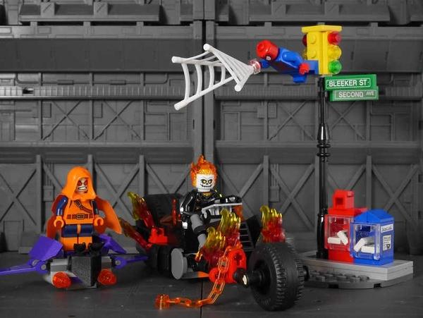 LEGO 樂高 超級英雄 Spider-Man: Ghost Rider Team-Up蜘蛛人 惡靈戰警 76058