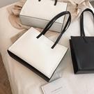 公文包 包包女包新款2021時尚托特包簡約百搭手提包大容量通勤公文側背包 新品
