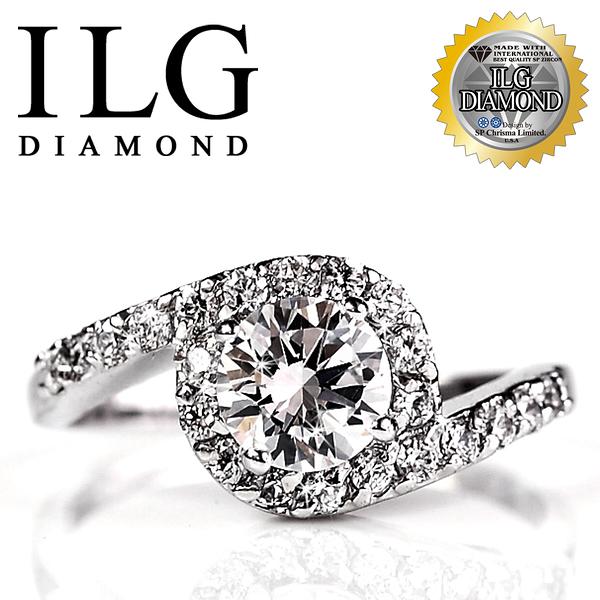 【ILG鑽】頂級八心八箭擬真鑽石戒指 唯一的愛款 RI024 主鑽約1.25克 閨蜜 訂情 聖品