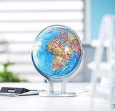 地球儀學生辦公室擺件20cm小學生地球儀教學版地球儀兒童小號第七公社