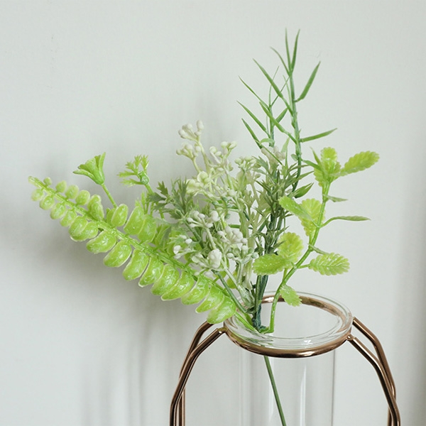 【BlueCat】仿真花 蕨類針葉 小香果插花材料 拍照道具 插花 花藝 花材 花牆